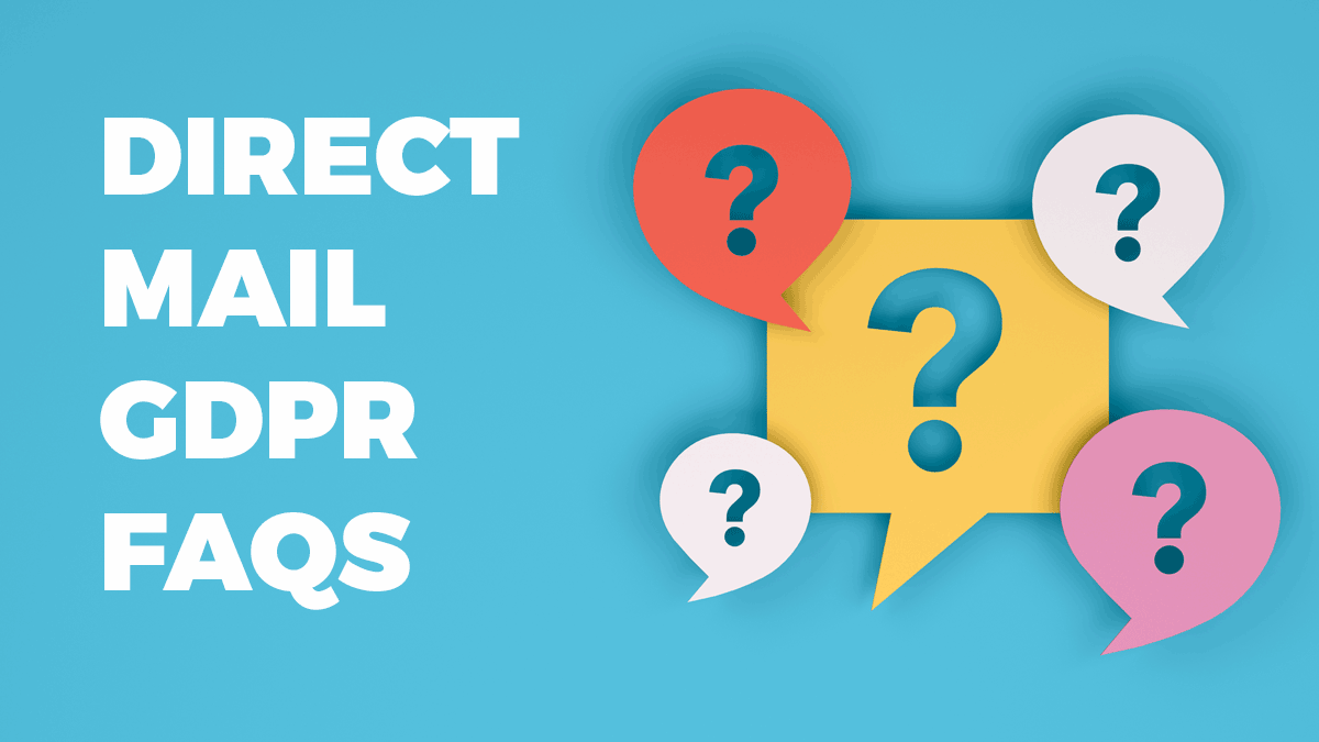 Direct Mail GDPR FAQs