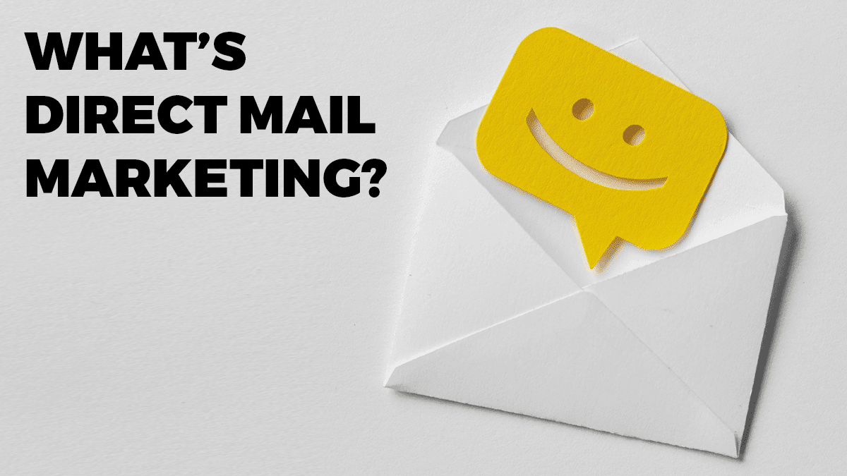 What exactly is direct mail marketing?