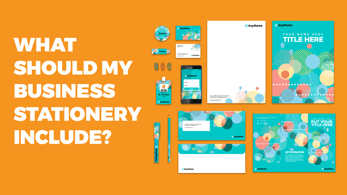 What should my business stationery include?