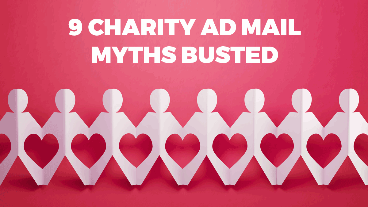 charity ad mail myths busted