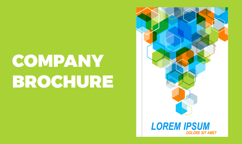 Include a company brochure in your business pack