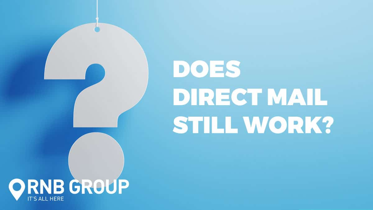 Does direct mail still work?